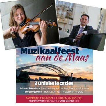 Muzikaal feest aan de Maas